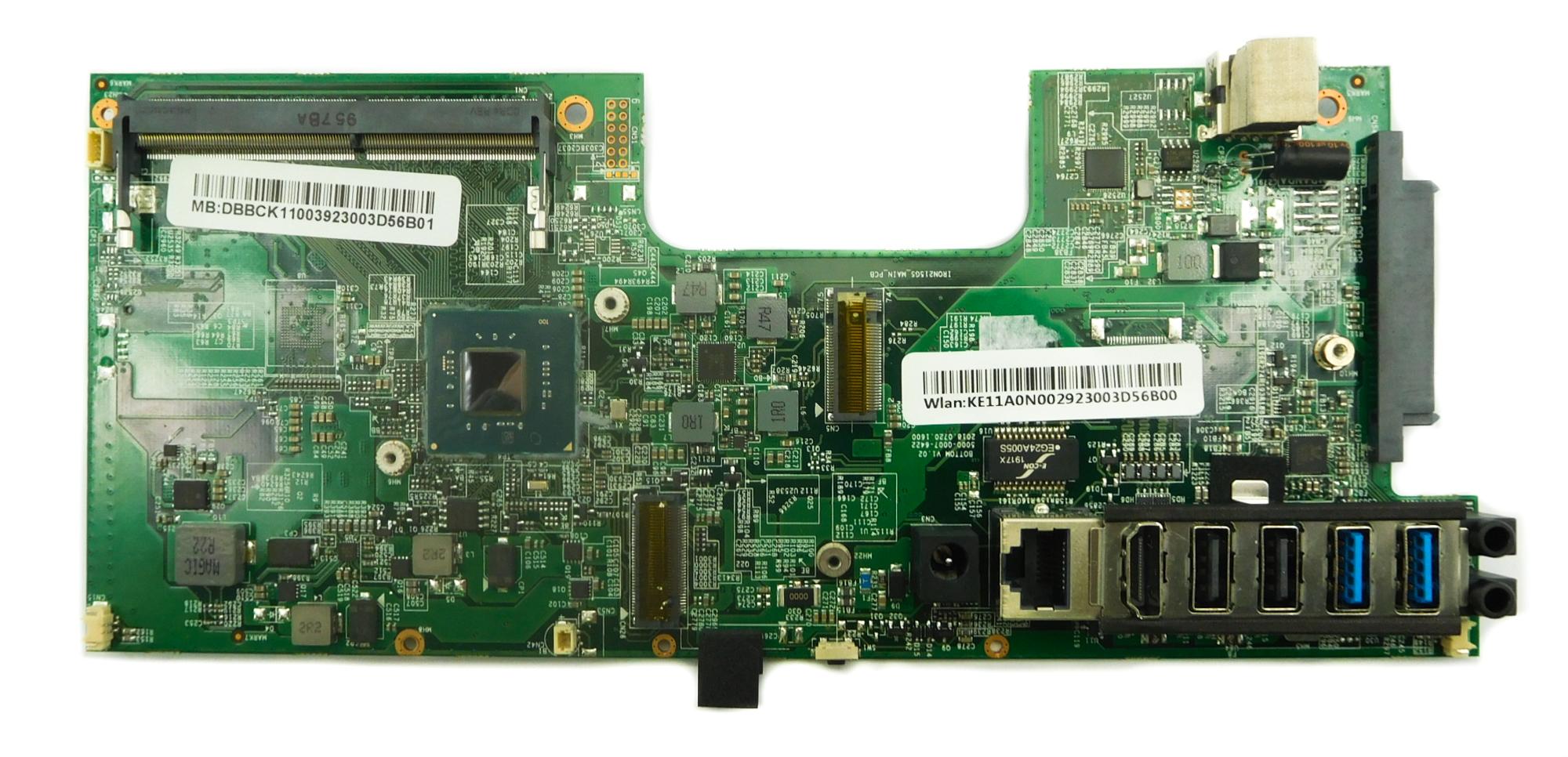 Acer DB.BCK11.003 Aspire C22-820 AiO PC Motherboard /w BGA Pentium J5005 CPU